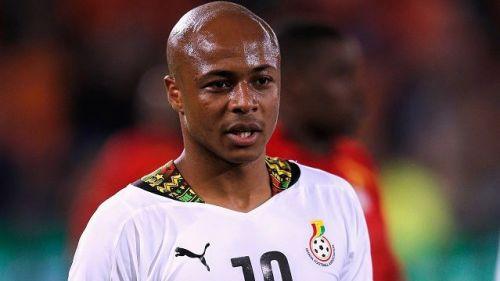 Andre Ayew - Ghanaian skipper