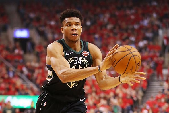 Giannis Antetokounmpo helped the Bucks reach the Conference Finals with some stellar performances