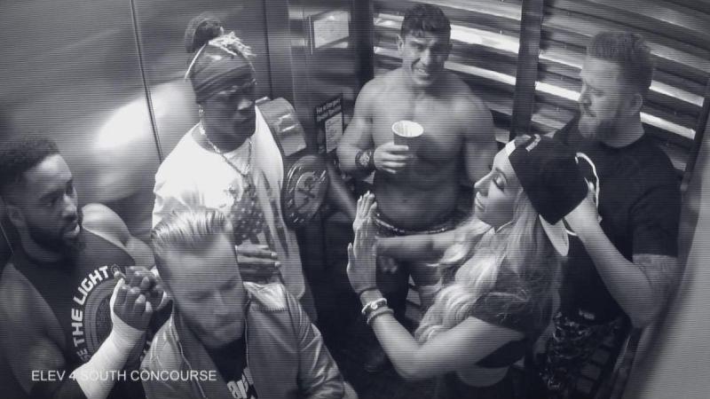 जब लिफ्ट में कई रैसलर्स के साथ फंसे थे चैंपियन आर ट्रुथ