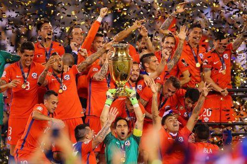 Chile repeat their Copa America triumph in 2016