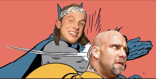 Is there real life heat between Matt Riddle and Goldberg