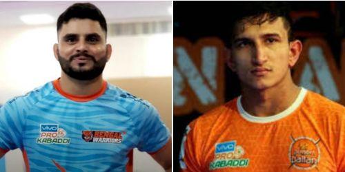 The new corner duo for Bengal Warriors: Baldev Singh and Rinku Narwal.