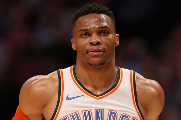hot sale online be89c fddb2 Houston Rockets Rumors: Russell Westbrook blockbuster trade ...