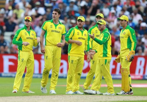Australia were outplayed in the second semi-final by England.