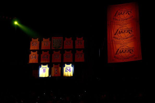 Los Angeles Lakers have had a lot of legends play for them