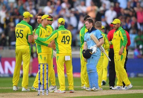 इंग्लैंड vs ऑस्ट्रेलिया , दूसरा सेमीफाइनल