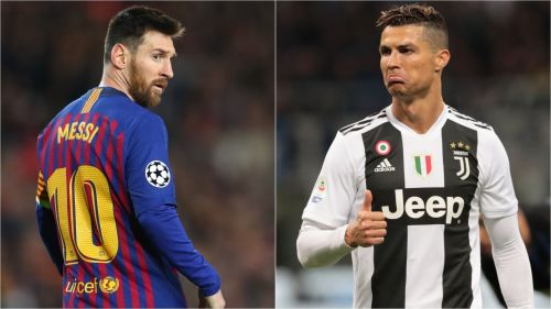 Cristiano Ronaldo and Lionel Messi both rank among some of the world's most admired celebrities.