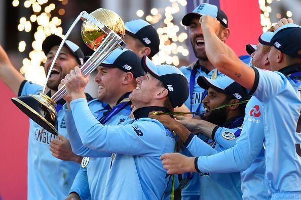 इंग्लैंड ने जीता वर्ल्ड कप का ख़िताब