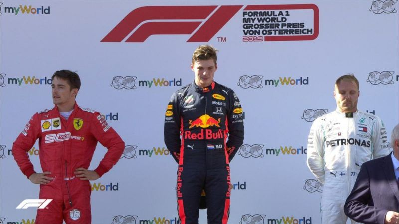 It was an action-packed race that culminated with a great drive through the field by Max