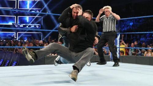 Owens stuns Shane