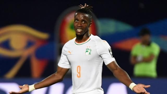 Zaha scored as Ivory Coast reach knockout stages with win over Namibia
