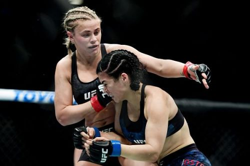 Paige VanZant at UFC Fight Night Cejudo v Dillashaw