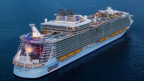 A cruise ship?