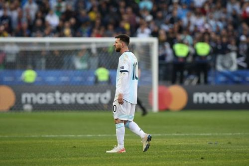 Lionel Messi was disappointing in the competition