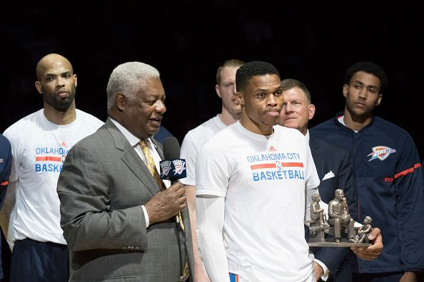 Oscar Robertson and Russell Westbrook