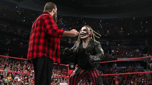 Bray Wyatt attacked Mick Foley on Raw