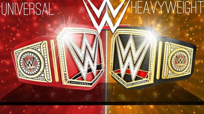 WWE को जोड़ना चाहिए दोनों बेल्ट्स