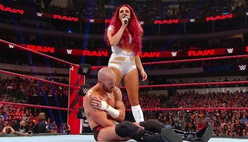 Maria Kanellis shocked the WWE Universe - and husband Mike!