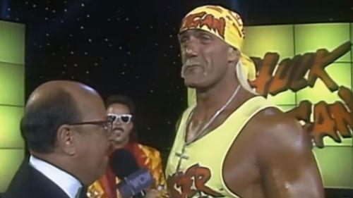 Hogan wasn't working as a babyface in WCW