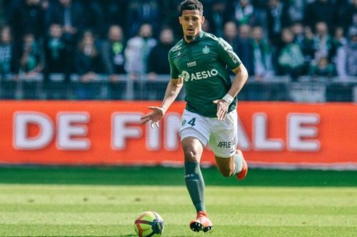William Saliba is at the heart of a transfer tussle between the two North-London giants