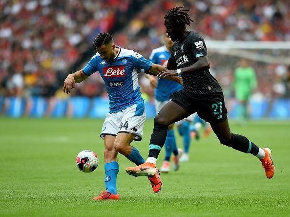 Origi failed to make an impact as Liverpool were downed 3-0