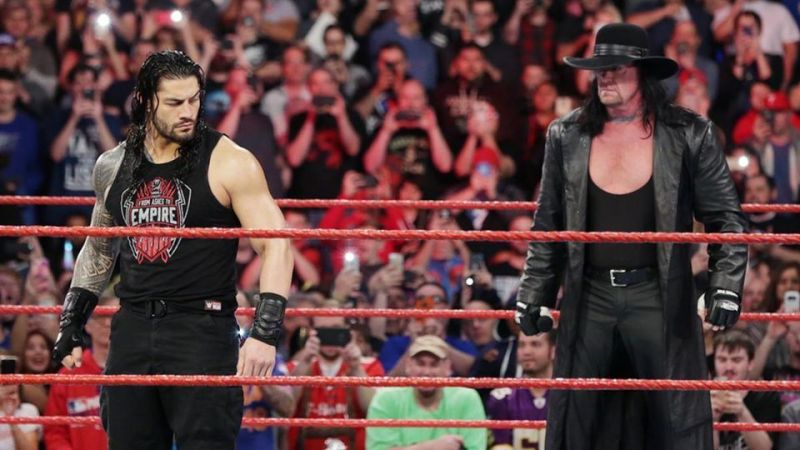 Roman Reigns and The Undertaker team up at Extreme Rules