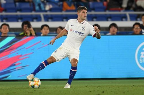 Christian Pulisic made his Chelsea debut against Kawasaki Frontale
