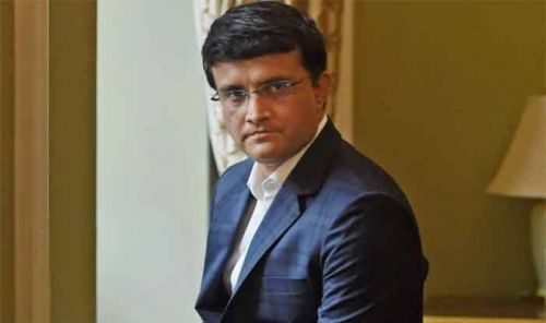 S Ganguly not happy with Indian team's effort yesterday.