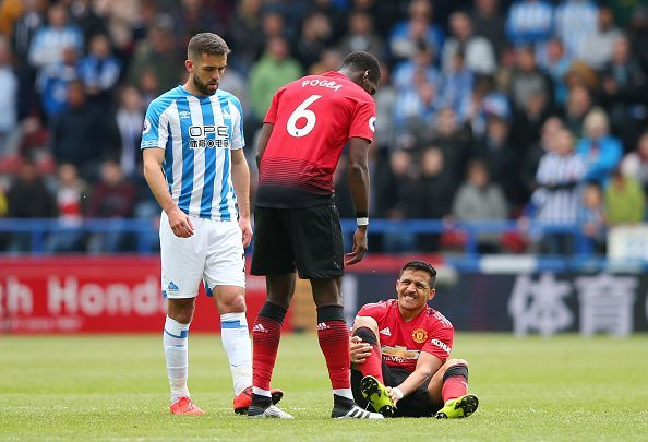 Injuries have plagued Sanchez during his time at United