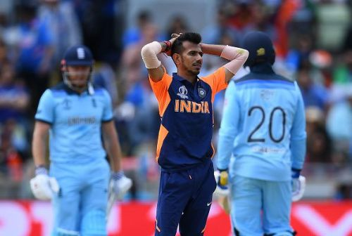 Chahal was expensive against England