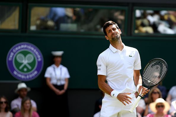 Novak Djokovic made it to the second round with a straight sets win over Philipp Kohlschreiber.