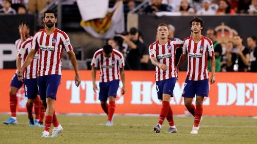 Diego Costa seems to be up to the task of leading the line for Atleti this season