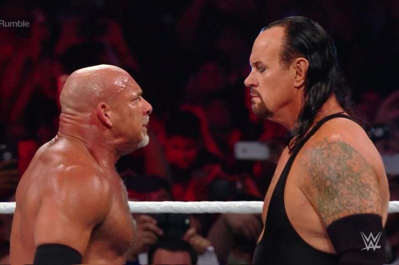 the undertaker and goldberg