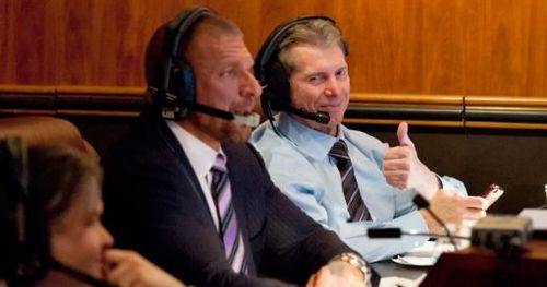 Vince and Triple H