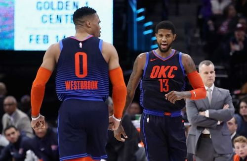 Paul George has left Oklahoma City after requesting to be traded to the LA Clippers
