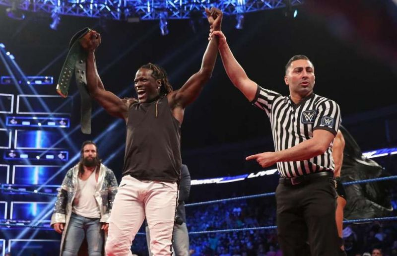 The newly introduced 24/7 Title is being chased by countless Superstars across Raw and Smackdown Live