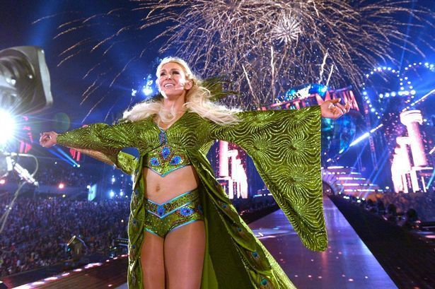 Charlotte Flair at WrestleMania