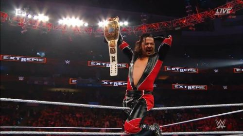 Is WWE trying to prevent Nakamura from leaving with this title win?
