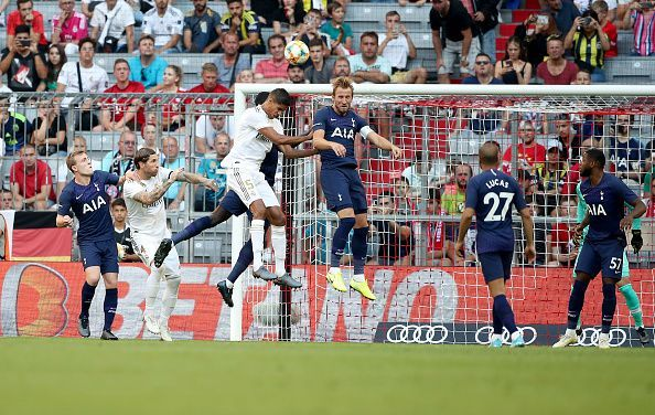 Real Madrid lost to Tottenham Hotspur in the Audi Cup