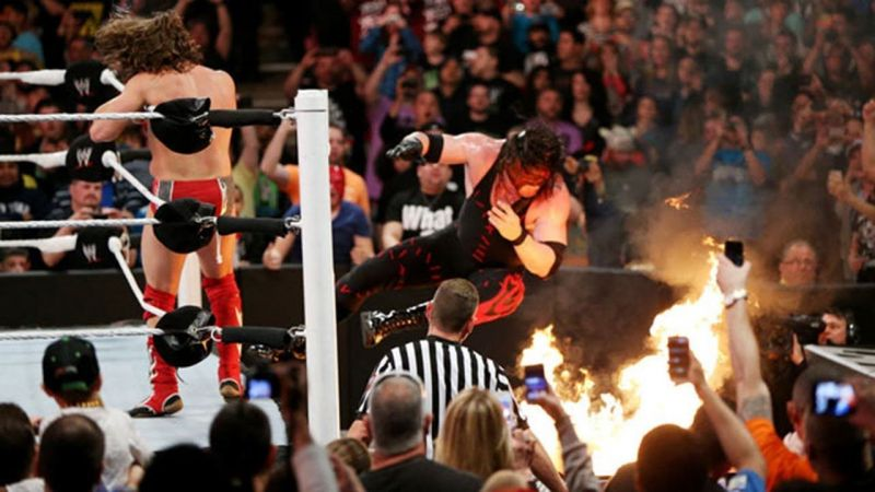There have been some really extreme moments at Extreme Rules.