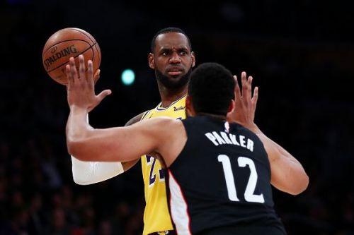 LeBron James vs Jabari Parker