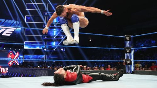 Finn Balor doing what he does best! We need more of this on TV