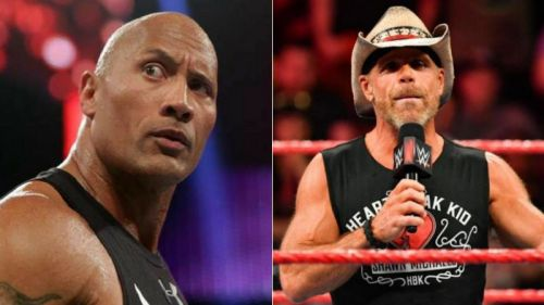 The Rock and Shawn Michaels are two of WWE's biggest legends