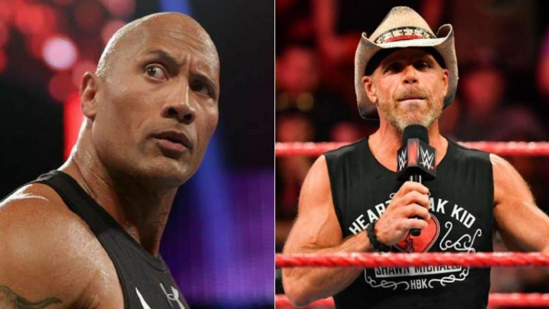 The Rock and Shawn Michaels are two of WWE