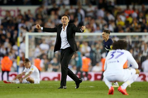 Lampard had a good first season in management in charge of Derby County
