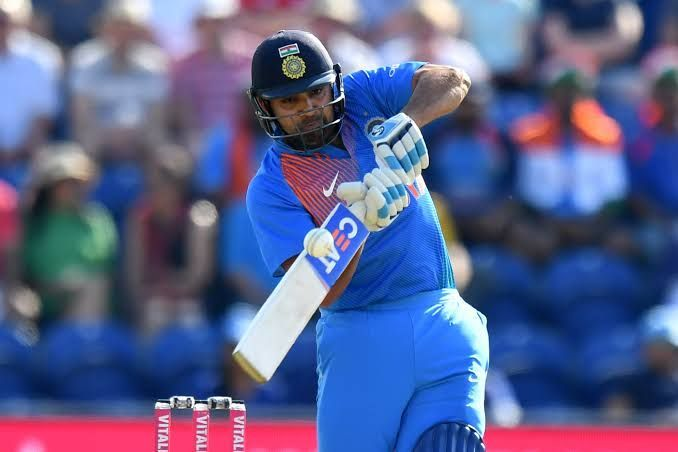 Rohit Sharma got India off to a flyer.