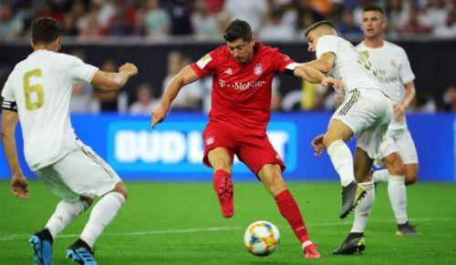 Robert Lewandowski scored the second goal of the match.