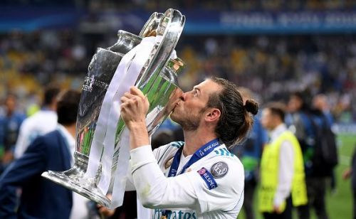 Gareth Bale won the UEFA Champions League four times with Real Madrid