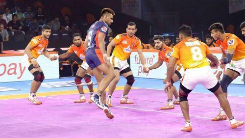 प्रो कबड्डी 2019, 17वां मैच: बंगाल वॉरियर्स vs पुनेरी पलटन