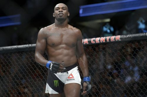 Jon Jones is looking for another successful title defence on Saturday